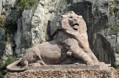 Belfort lion ville porte