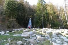 cascade du Bockloch au lac de Kruth Wildenstein