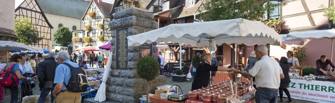 marchés de produits Eguisheim8