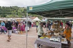 marché de produits, La Bresse