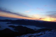 Grand Ballon mer de nuages hiver