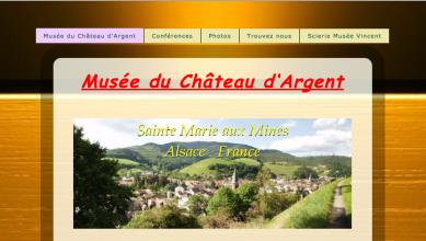 capture ecran site web musee chateau argent
