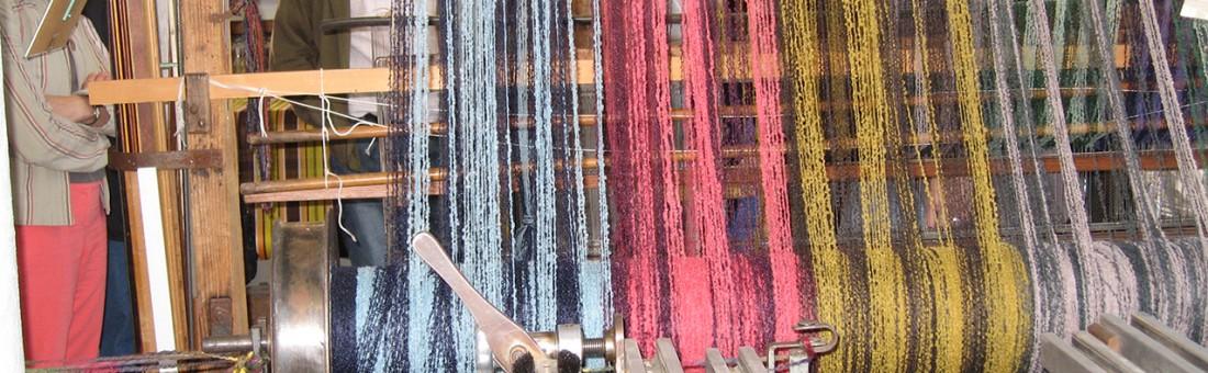 patrimoine textile fil machine maison de pays