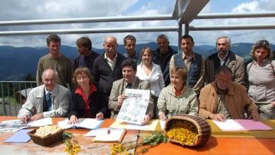 Signature de la convention arnica - 2007