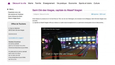 Saint die capture ecran web