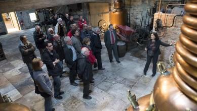 elus visite distillerie fougerolles
