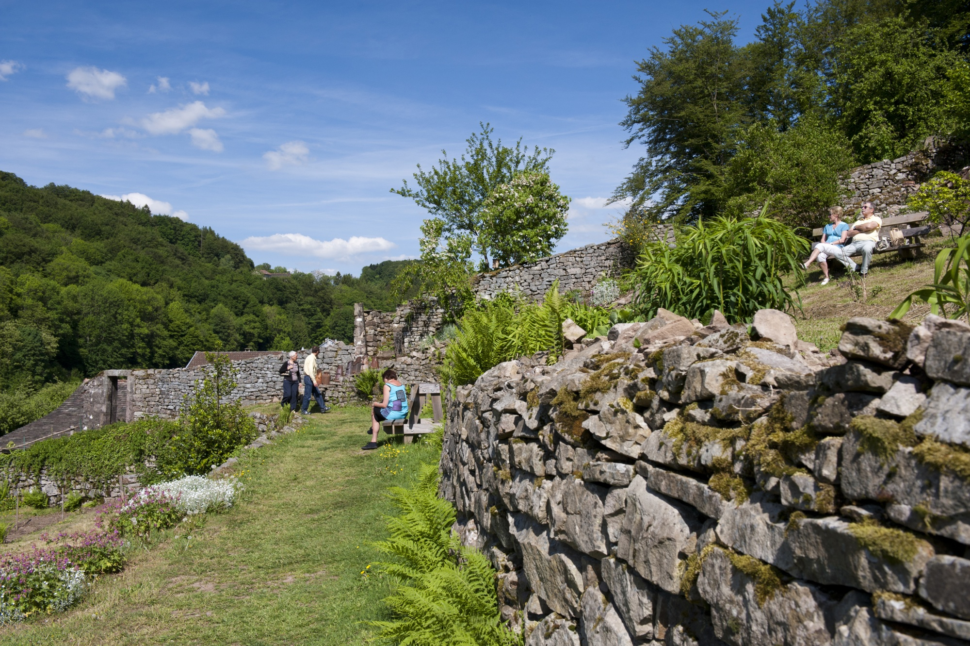 Les Jardins en terrasses Plombi¨res les Bains