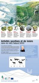 couv panneau 4 - activités sportives et de loisirs dans les sites N2000