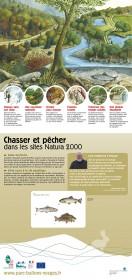 couv panneau 5 - chasser et pêcher dans les sites N2000