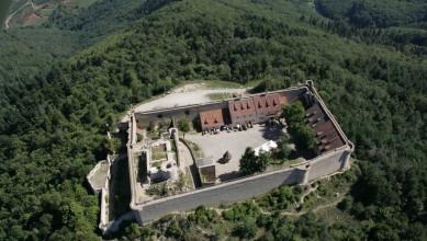 patrimoine bâti-château du hohlandsbourg-aérien