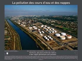 la pollution des cours deau